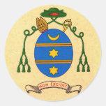 Francis de Sales Coat of Arms Patron Saint Sticker
