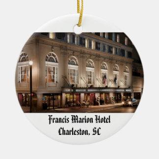 Francis Marion Hotel Ceramic Ornament