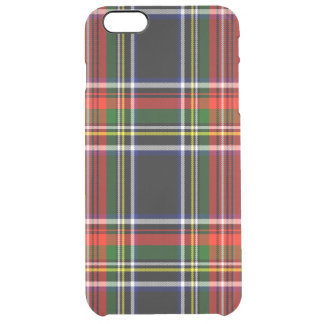 Francis Scottish Tartan Clear iPhone 6 Plus Case