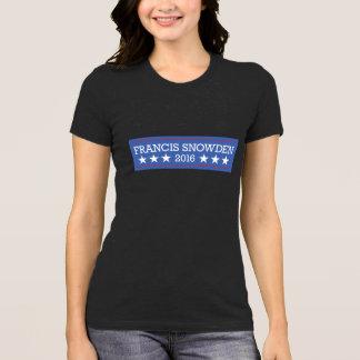 Francis/Snowden 2016 T-Shirt
