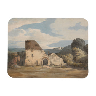 Francis Towne - Dunkerswell Abbey Magnet