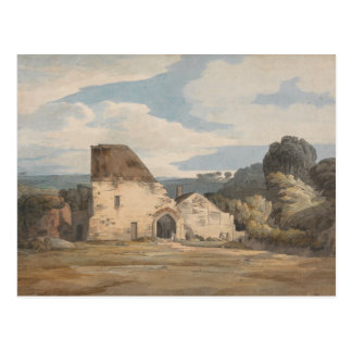 Francis Towne - Dunkerswell Abbey Postcard