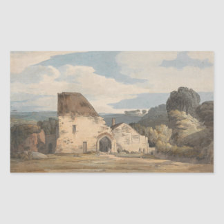 Francis Towne - Dunkerswell Abbey Sticker
