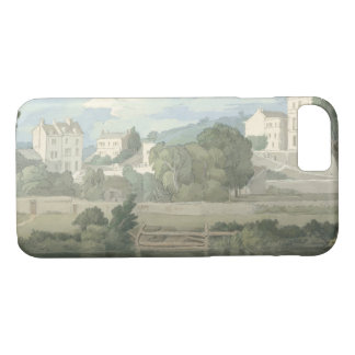 Francis Towne - Houses near Plymouth Case-Mate iPhone Case