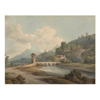 Francis Towne - Modern Bridge at Narni Postcard