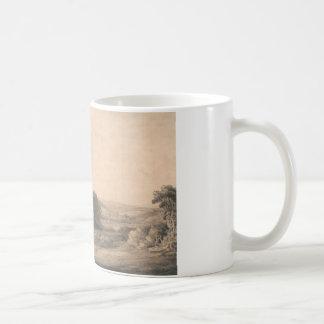 Francis Towne - Oakhampton Castle Coffee Mug