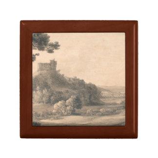 Francis Towne - Oakhampton Castle Gift Box