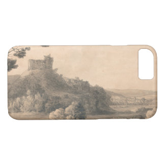 Francis Towne - Oakhampton Castle iPhone 8/7 Case