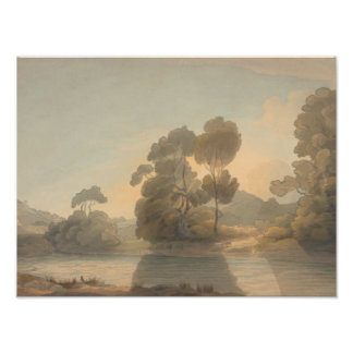 Francis Towne - On the Dee Photo Print