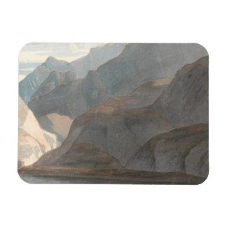 Francis Towne - On the Lake of Como Rectangular Photo Magnet