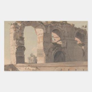Francis Towne - The Claudian Aquaduct, Rome