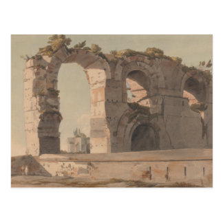 Francis Towne - The Claudian Aquaduct, Rome Postcard