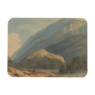 Francis Towne - The Entrance into Borrowdale Magnet