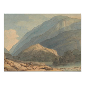 Francis Towne - The Entrance into Borrowdale Photo Print