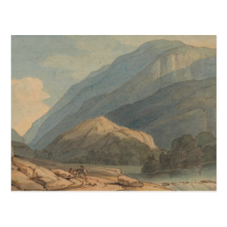Francis Towne - The Entrance into Borrowdale Postcard