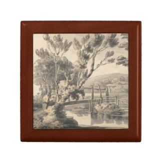 Francis Towne - The Foot Bridge Gift Boxes