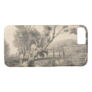 Francis Towne - The Foot Bridge iPhone 7 Case