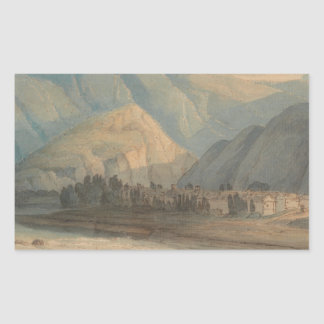 Francis Towne - The Grange at the Head of Keswick Sticker