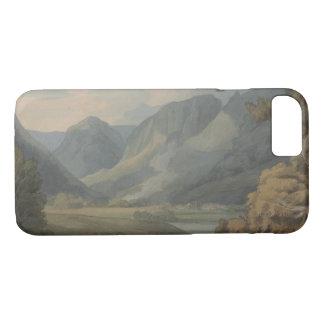 Francis Towne - View in Borrowdale of Eagle Crag iPhone 8/7 Case