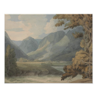 Francis Towne - View in Borrowdale of Eagle Crag Photo Print