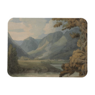 Francis Towne - View in Borrowdale of Eagle Crag Rectangular Photo Magnet