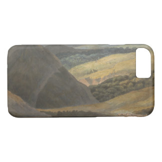 Francis Towne - View on Lake Maggiore at Evening iPhone 8/7 Case