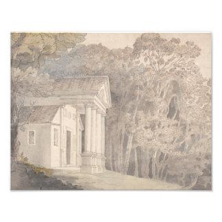 Francis Towne - Werrington Park, Devonshire Photo Print