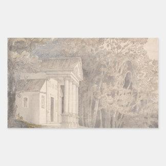 Francis Towne - Werrington Park, Devonshire Sticker