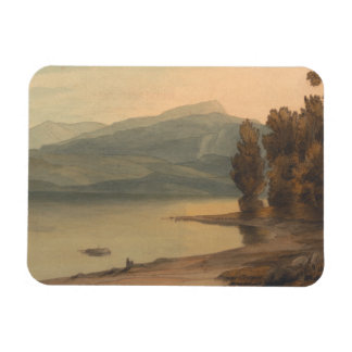 Francis Towne - Windermere at Sunset Magnet