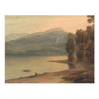 Francis Towne - Windermere at Sunset Postcard