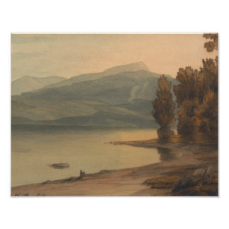 Francis Towne - Windermere at Sunset Poster