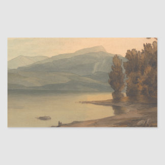 Francis Towne - Windermere at Sunset Sticker