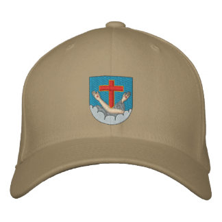 Franciscan coat of arms embroidered hat