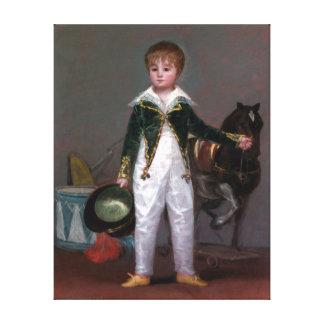 Francisco de Goya José Costa y Bonells Canvas Print
