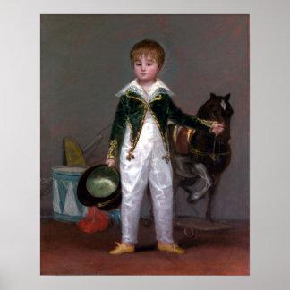 Francisco de Goya José Costa y Bonells Poster