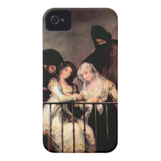 Francisco de Goya - Majas on a Balcony Case-Mate iPhone 4 Case