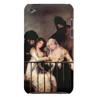 Francisco de Goya - Majas on a Balcony iPod Case-Mate Cases