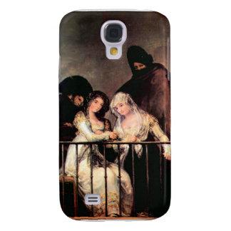 Francisco de Goya - Majas on a Balcony Galaxy S4 Covers
