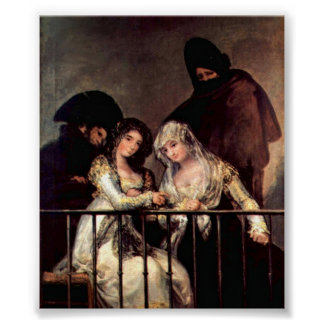 Francisco de Goya - Majas on a Balcony Posters