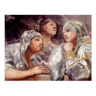 Francisco de Goya - Spectators Postcard