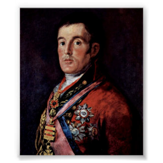 Francisco de Goya - The Duke of Wellington Poster