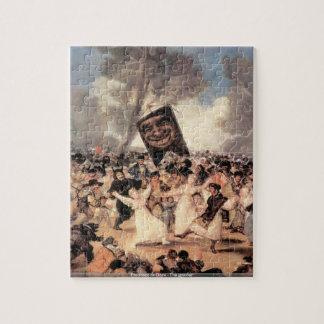 Francisco de Goya - The grinder puzzle