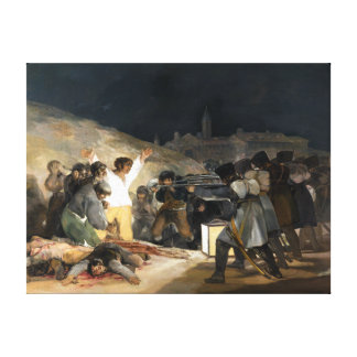 Francisco de Goya The Third of May 1808 Canvas Print