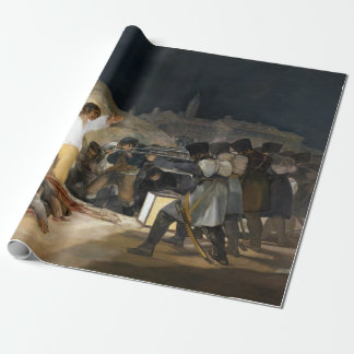 Francisco de Goya The Third of May 1808 Wrapping Paper