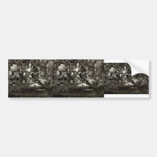 Francisco Goya- Absurdity funeral Bumper Stickers