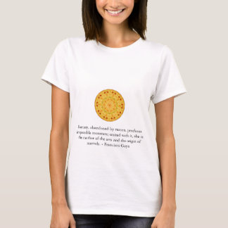 Francisco Goya ART quotation T-Shirt