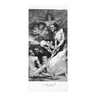 Francisco Goya- Blow Personalized Rack Card