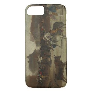 Francisco Goya - Bullfight in a Village iPhone 7 Case