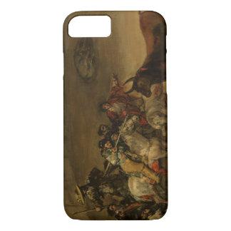 Francisco Goya - Bullfight, Suerte de Varas iPhone 7 Case