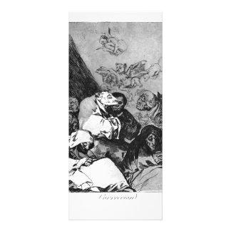 Francisco Goya- Correction Full Color Rack Card